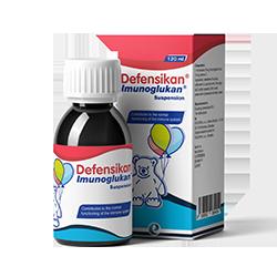 Defensikan<sup>®</sup> Imunoglukan<sup>®</sup>糖漿 120毫升