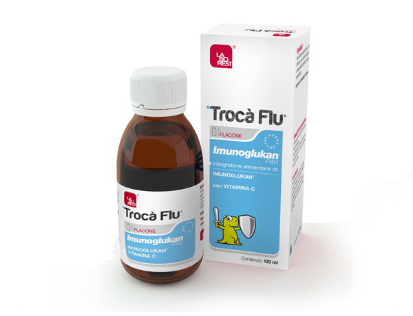 TROC&Agrave; FLU<sup>&reg;</sup> Imunoglukan P4H<sup>&reg;</sup>120ml