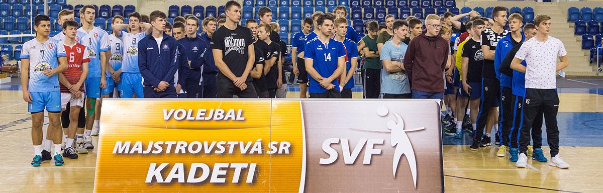 Majstrovstvá Slovenska kadetov vo volejbale 2019